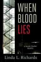 When blood lies : [Nicole Charles mystery]