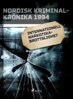 Internationell narkotikabrottslighet