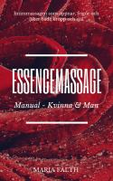 Essencemassage - man & kvinna