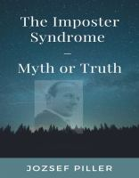 The imposter syndrome : myth or truth?